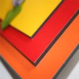 Comitato composito di alluminio d'acciaio galvanizzato del favo Panel/4mm