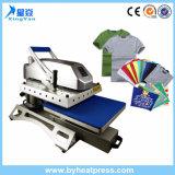Shirt-kundenspezifisches Schwingen-wegmaschinenhälften-Wärmeübertragung-Maschine