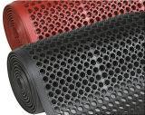 Циновка настила самого лучшего качества крытая резиновый, половой коврик резины кухни