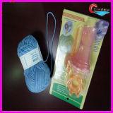 Fio extravagante de confeção de malhas do tear que faz malha o fio de algodão super misturado acrílico