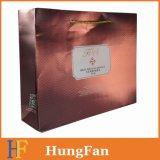 カスタムロゴの紫外線印刷を用いる贅沢なペーパーショッピング・バッグ、