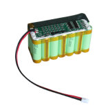 최고 Capacitor Rechargeable 25.9V 18650 Li Ion Battery Pack
