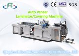X série do folheado & máquina semiautomáticos da coberta & da estratificação