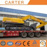 Excavador hidráulico resistente de múltiples funciones caliente de la correa eslabonada de la retroexcavadora de las ventas CT240-8c
