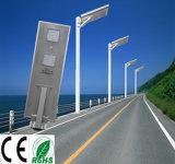 1개의 해결책 통합 태양 LED 가로등에서 태양 강화된 옥외 가벼운 센서 전부