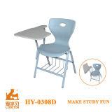 현대 디자인 금속과 PP 플라스틱 쓰기 의자