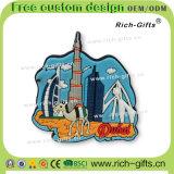 Bandierina dei regali dei magneti ecologici promozionali del frigorifero della Doubai turistica personalizzata del ricordo (RC-DI)
