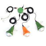 고성능 세륨 RoHS에 유효한 새로운 3W 태양 Recharegable 램프 녹색 분홍색 오렌지