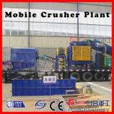Planta móvel mais barata do triturador de rolo para esmagar materiais de mineração