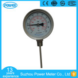 100mm Edelstahl-Unterseiten-Anschluss Wika bimetallischer Thermometer