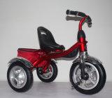 Vélo d'enfants de tricycle de gosses de qualité avec la conduite de bébé de panier sur le véhicule