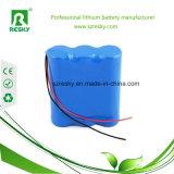 Paquete recargable de la batería de 3.7V 7800mAh 1s3p 18650 para médico