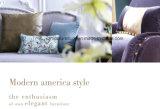 Da mobília americana da sala de visitas do estilo da forma sofá moderno da tela