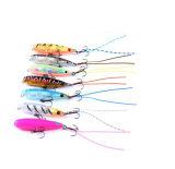 Le plastique neuf d'ABS leurre des attraits fabriqués à la main multicolores de pêche