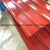 Telhadura ondulada da telhadura Sheet/Gi do moinho direto com 750-1000mm (BC)