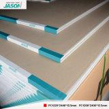 De StandaardGipsplaat van Jason voor de Bouw/Plafond materieel-12.5mm