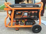 mini gerador elétrico silencioso pequeno da gasolina 2.5kw para o uso Home