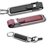 金属革USBのフラッシュディスク(PZE506)