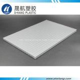 Folha branca Opal da cavidade do policarbonato da alta qualidade com proteção UV