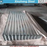 Matériau de construction Acier Revêtement de toit en acier galvanisé Revêtement de toit ondulé