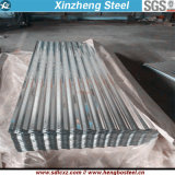 Material de construcción PPGI PPGL Placa de acero Galvanizado ondulado Hoja de cubierta