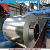 Q235B a laminé à froid la bobine en acier galvanisée par feuille en acier de toiture de bobine