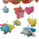2015 neuester B/O Baby Bed Prodcuts Plush Bed Toys mit Music und Light (10220296)