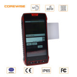 Android 5 '' Quad Core robuste appareil mobile portable avec RFID Barcode Scanner