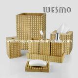 Accessoire de bain en bambou carbonisé (WBB0454A)
