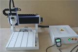 L'acrylique embarque machine de bureau de publicité de couteau de commande numérique par ordinateur de l'aluminium 6090 de PVC de forces de défense principale la mini