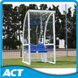 적극 추천하는 유럽 디자인 Portable 대용품 벤치/이동할 수 있는 풋볼 팀 대피소