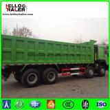 Caminhão de descarga do Tipper da mina de HOWO 8X4 para Samd e carvão