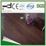 Plancher laminé en acier inoxydable AC3 HDF V-Groove de 8 et 12 mm en chêne et chêne de 8 et 12 mm