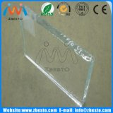 4mm 6mm 10mm 19mmのOptiwhite/Opticlearによって特定のサイズにカットされるプロジェクトガラス