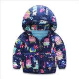 아이를 위한 재킷을 인쇄하는 얇은 단면도