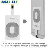 20PCS/Lot Qi drahtlose aufladenempfänger-Adapter-Karten-Chip-Aufladeeinheit für Samsung FahrwerkHTC Nokia Mikro-USB iPhone 5 5c 5s SE 6 6s plus
