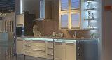 De Vloer die van uitstekende kwaliteit de Keukenkasten van pvc bevinden zich (zc-031)
