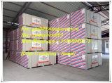 Plasterboard padrão da placa de gipsita do preço de fábrica da alta qualidade