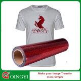 Vinilo excelente del traspaso térmico del holograma de Qingyi para el desgaste