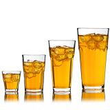 茶またはビールガラス製品(KB-HN0259)のための高品質のガラスコップ