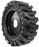 Pneu solide 12-16.5, pneu solide 12X16.5 de boeuf de dérapage de Skidsteer