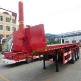 Aanhangwagen van de Stortplaats van Tongya de Beste Verkopende Flatbed Semi op Verkoop