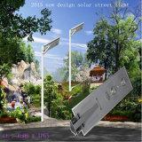Réverbère solaire Integrated chaud de DEL avec 2 ans de garantie