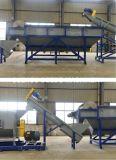 Auto de plástico PP PE Film Trituración lavadora y secadora