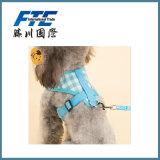 Engranzamento respirável macio com o chicote de fios de nylon do colar de cão da tração