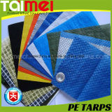 50GSM~80GSM D. Blue Waterproof PET Tarpaulin für Tuck Cover /Pool Cover