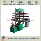 Azulejo de goma que hace la máquina/la máquina de fabricación de ladrillo de goma del suelo/la máquina de vulcanización del azulejo de goma