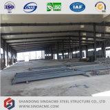 プレハブの軽い鉄骨構造の倉庫