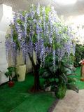 Árvore da flor artificial da fibra de vidro da decoração do casamento
