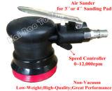Augenhöhlenpalmen-Sandpapierschleifmaschine der Luft-3inch mit nicht Vakuum